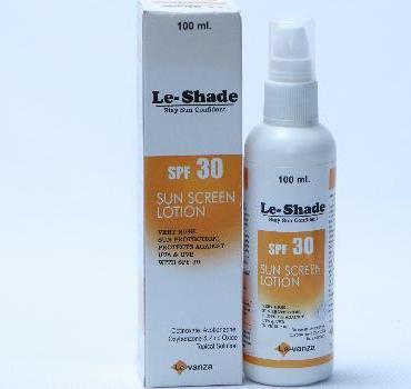 Le-shade Sunscreen Lotion