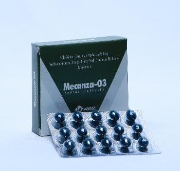 Mecanza -O3 Soft Gel Cap